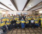 Володимир Гройсман та Ігор Жданов зустрілися із спортсменами і тренерами паралімпійської збірної України у Західному реабілітаційно-спортивному центрі