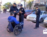 Инициативная группа колясочников проверяла городские парковки (ВИДЕО). колясочников