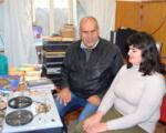 Незрячий переселенець з Донбасу дарує старим книгам нове життя. анатолій сасса
