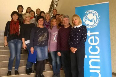 Краматорск принимает участие в новом проекте ЮНИСЕФ. раннего вмешательства