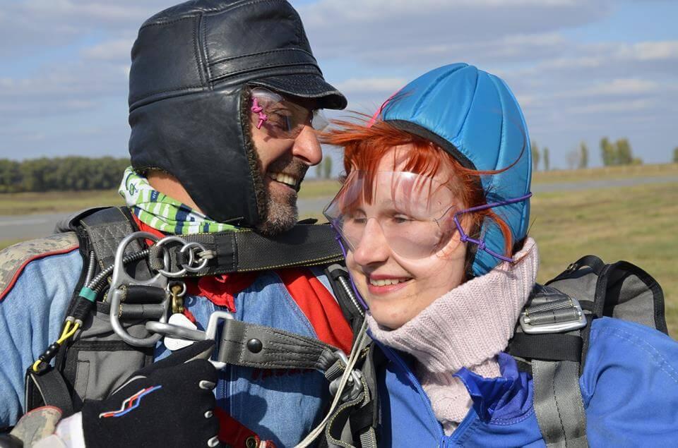 FightForRight, або Чому незрячі дівчата стрибнули з парашутом?. fightforright, інвалідністю