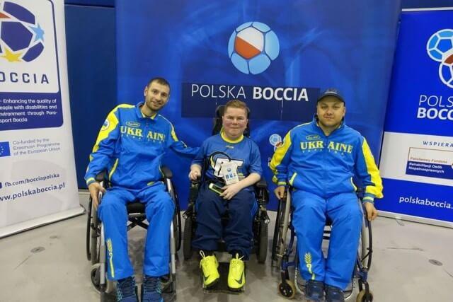 Юрій Духно в п'ятірці кращих з гри у бочча на міжнародному турнірі (ВІДЕО)