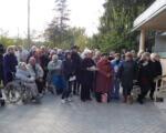 В Святогорск прибыла очередная группа переселенцев инвалидов из санатория Куяльник. Губернатор пообещал держать на личном контроле условия их проживания. особыми потребностями, переселенцев