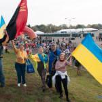 Світлина. Українські воїни АТО успішно фінішували на Марафоні Морської піхоти США. Спорт, воїни