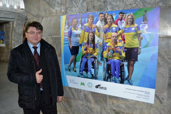 У Києві відкрилася фотовиставка «Чемпіон у кожному», присвячена українським паралімпійцям