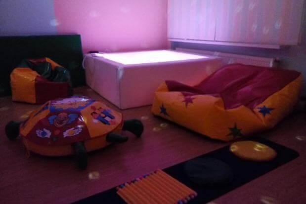 Активісти встановили сенсорну кімнату для особливих дітей Калуша (ФОТО, ВІДЕО). дітей