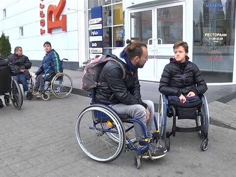Недоступне місто Дніпро паралімпійці мотивують змінити ситуацію (ВІДЕО)