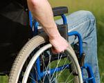 «До мети – разом!» об'єднав молодих людей з особливими потребами. особливими потребами, функціональними обмеженнями, інвалідністю, grass, bicycle, chair, person, outdoor, wheel, bicycle wheel, bike, seat, land vehicle. A person sitting on a bicycle