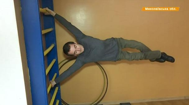 Прикутий до візка хлопець – лідер українського воркауту (ВІДЕО)