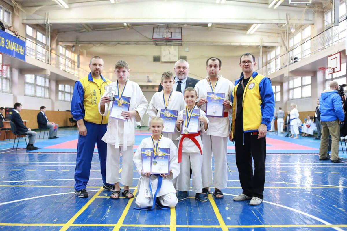У Дніпрі відбувся Чемпіонат України з карате серед спортсменів з вадами слуху
