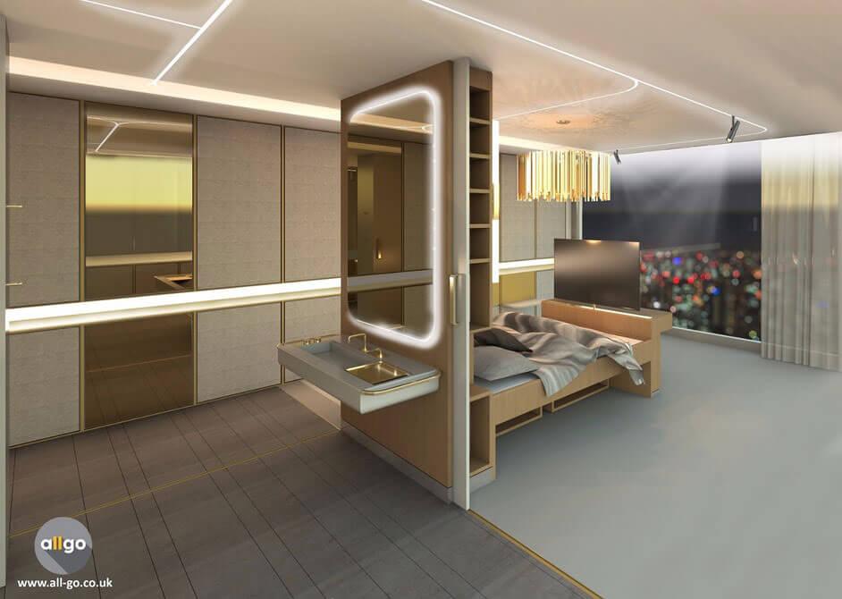 Создан дизайн гостиничной комнаты для людей с ограниченными возможностями (ВИДЕО)