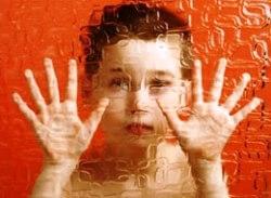 Педагогический эксперимент по интеграции детей с аутизмом – в работе. аутизм, обучение, реабілітація, реформирование, інтеграція, poster, art, human face, person, painting, orange, mammal, man. A person holding a cat