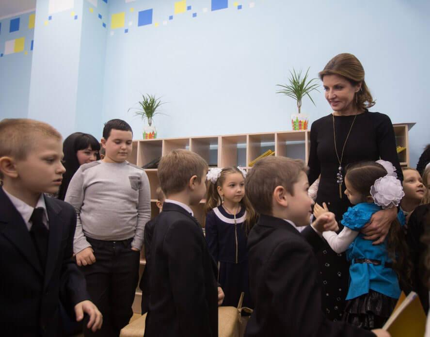 У Запоріжжі Марина Порошенко відкрила першу Медіатеку