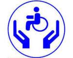 Фонду соціального захисту інвалідів — 25 років. чернігівщина, працевлаштування, реабілітація, фонд соціального захисту інвалідів, інвалідність, circle, abstract, logo, trademark, clipart, design, graphics, font, electric blue, graphic. A drawing of a face