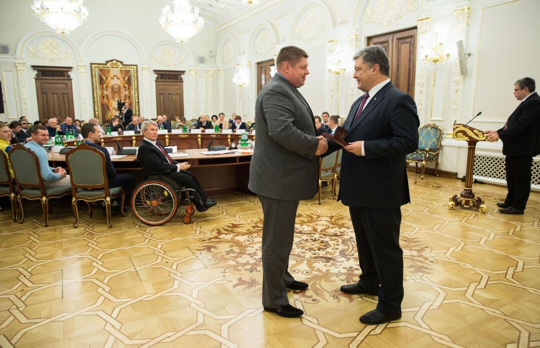 Президент вручив державні нагороди особам, що сприяють дотриманню прав людей з інвалідністю