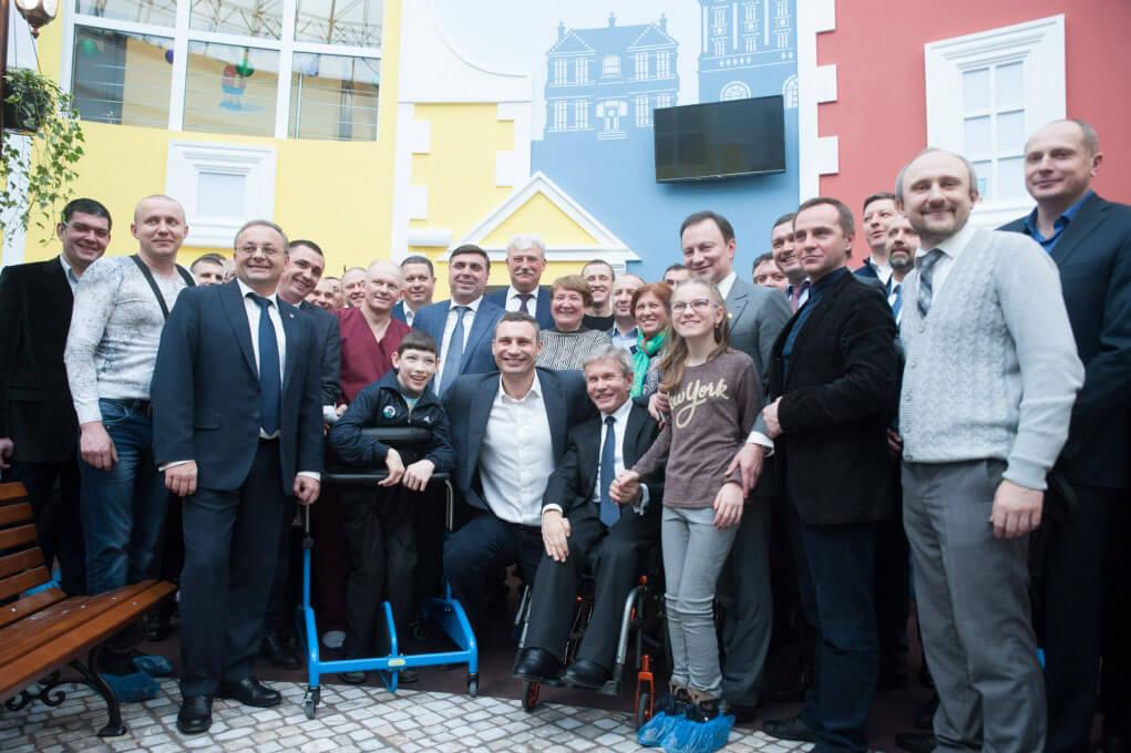 Віталій Кличко: «Ми відкрили у Києві перший і єдиний в Україні найсучасніший центр соціальної реабілітації дітей-інвалідів»