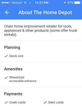 В Google Maps появилась информация о доступности заведений для инвалидов. google maps, доступность, инвалид, ограниченными возможностями