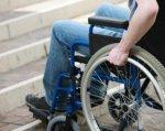 Общественный совет рекомендует в бюджете учитывать потребности людей с ограниченными возможностями. общественный совет, херсон, маломобильный, ограниченными возможностями, пандус, bicycle, wheel, furniture, bicycle wheel, seat, chair, person, outdoor, tire, land vehicle. A person sitting on a bicycle seat