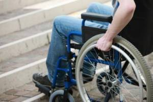 Общественный совет рекомендует в бюджете учитывать потребности людей с ограниченными возможностями. общественный совет, херсон, маломобильный, ограниченными возможностями, пандус