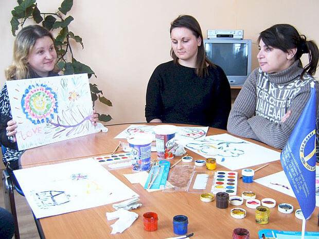 Служба зайнятості Тернопільщини – особам з інвалідністю. арт-терапія, працевлаштування, семінар, центр зайнятості, інвалідність