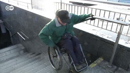 Дискримінація інвалідів: учасники АТО вимагають змін (ВІДЕО)