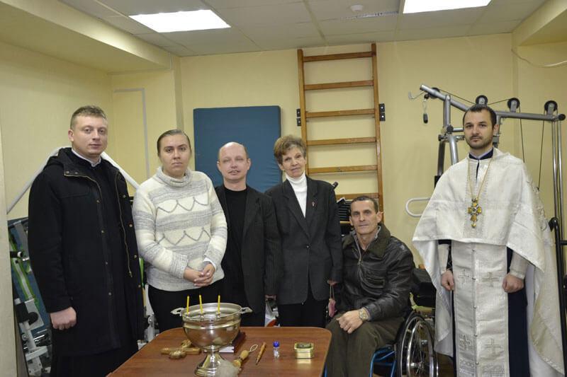 Представники духовенства Карпатської єпархії УАПЦ освятили нове приміщення реабілітаційного центру «Вибір» в Ужгороді