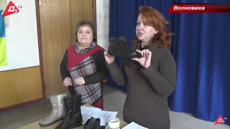 Волонтерка з Тернополя шиє для дітей з інвалідністю з Волновахи ортопедичне взуття (ВІДЕО)