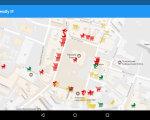 Франківські айтішники розробили мобільний додаток для мешканців з особливими потребами. івано-франківськ, мобільний додаток, неповносправний, особливими потребами, пандус, text, map, screenshot. A close up of a map