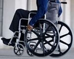 Послуги соціальної та психологічної реабілітації інвалідам. адаптація, професійна орієнтація, реабілітація, інвалід, інвалідність, wheel, person, wheelchair, bicycle wheel, bicycle, tire, land vehicle. A statue of a bicycle