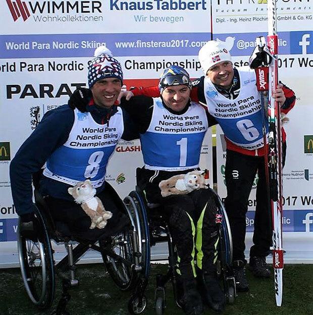 Другий день змагань чемпіонату світу з лижних перегонів та біатлону укріпив лідерство України. біатлон, лижні перегони, паралімпійці, чемпіонат світу, інвалід