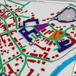 Світлина. Якою може бути тактильна карта Луцька. Конкурси, інвалідність, Луцьк, порушення зору, слабозорі, тактильна карта