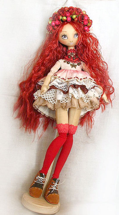 """Илона Слуговина: """"На первую сделанную мной мягкую игрушку нельзя было смотреть без слез"""". илона слуговина, выставка, кукла, спортсменка, танцы"""
