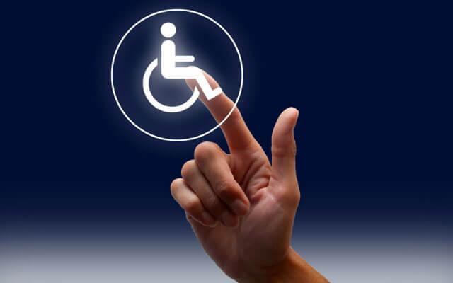 На Дніпропетровщині успішно вирішується питання з працевлаштування громадян з інвалідністю. кривий ріг, працевлаштування, центр зайнятості, інвалід, інвалідність, person, hand, moon. A person holding an object in his hand