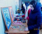 Люди з інвалідністю прийняли участь у фестивалі присвяченому Масляній (ФОТО). кропивницький, масляна, фестиваль, інвалід, інвалідність, person, clothing, indoor, painting, child art, drawing, woman. A person in a blue shirt