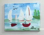 У Чернівцях показали дивовижні картини хлопчика з аутизмом (ВІДЕО). данило гулько, чернівці, аутизм, виставка, картини, painting, child art, drawing, ship, cartoon, sketch
