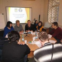 За круглим столом обговорили питання трудової адаптації осіб з інвалідністю. мариуполь, трудова адаптація, центр зайнятості, інвалід, інвалідність