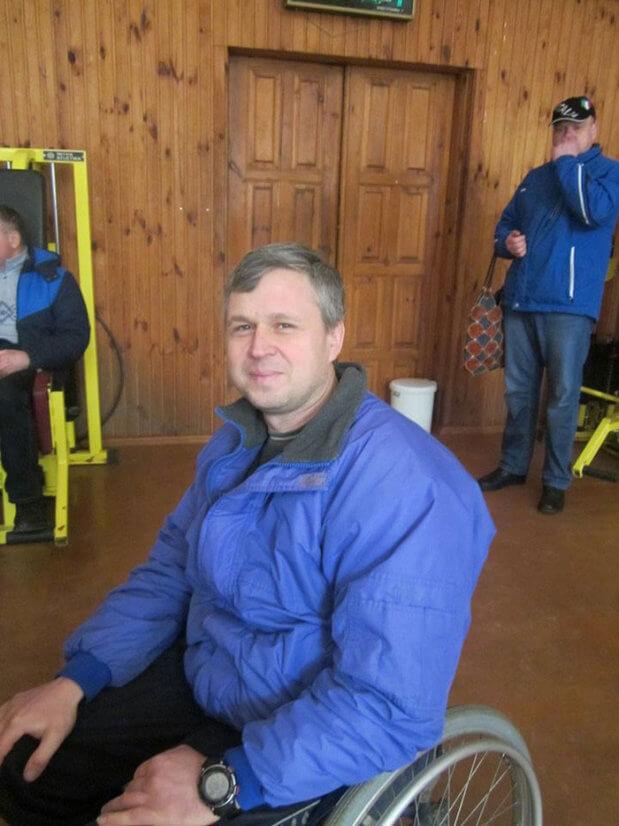 Сергей Шурута рассказал, как живется черниговцам с ограниченными потребностями. сергей шурута, чернигов, инвалид, пауэрлифтинг, спинальник