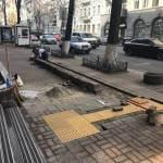 Світлина. Возле Минрегиона в Киеве появятся тактильные наземные указатели. Безбар'ерність, инвалидность, инвалид, Киев, Минрегион, тактильные наземные указатели