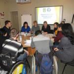 Світлина. За круглим столом обговорили питання трудової адаптації осіб з інвалідністю. Робота, інвалідність, інвалід, центр зайнятості, Мариуполь, трудова адаптація