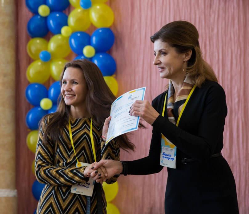 Освітяни інклюзивних шкіл Запорізької області пройшли тренінг з використання комп'ютерних технологій у навчальному процесі у рамках соціальної програми Марини Порошенко (ФОТО)