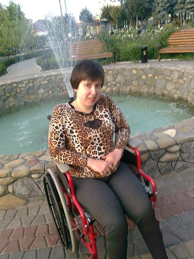 Проект вінничанки з ДЦП забезпечить роботою українців з інвалідністю