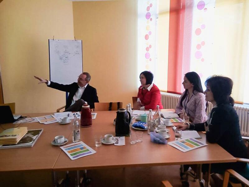 Фахівці Буковинського обласного центру соціальної реабілітації дітей-інвалідів здійснили робочий візит до Німеччини (ФОТО)