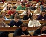На Тернопільщині студенти з інвалідністю мають можливість навчатися безкоштовно. тернопільщина, навчання, студент, інвалід, інвалідність, person, indoor, sitting, group, human face, clothing, woman, classroom, school, academic. A group of people sitting at a table