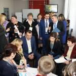 Світлина. Марина Порошенко підтримує інклюзивну освіту на Чернігівщині. Навчання, інклюзивна освіта, інклюзія, Марина Порошенко, тренинг, Чернігівщина