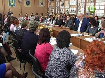 Марина Порошенко перейнялася навчанням подільських дітей з особливими потребами (ВІДЕО)