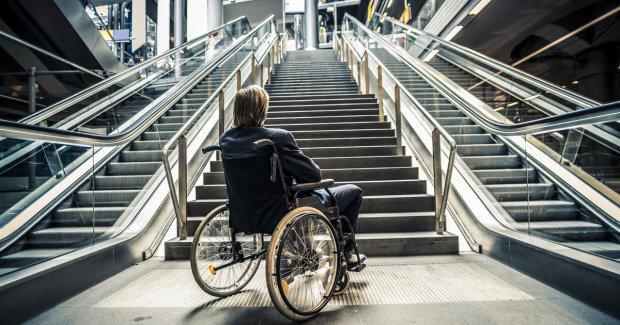 10 головних ознак доступності будинків. вади зору, доступність, пандус, інвалідний візок, інвалідність