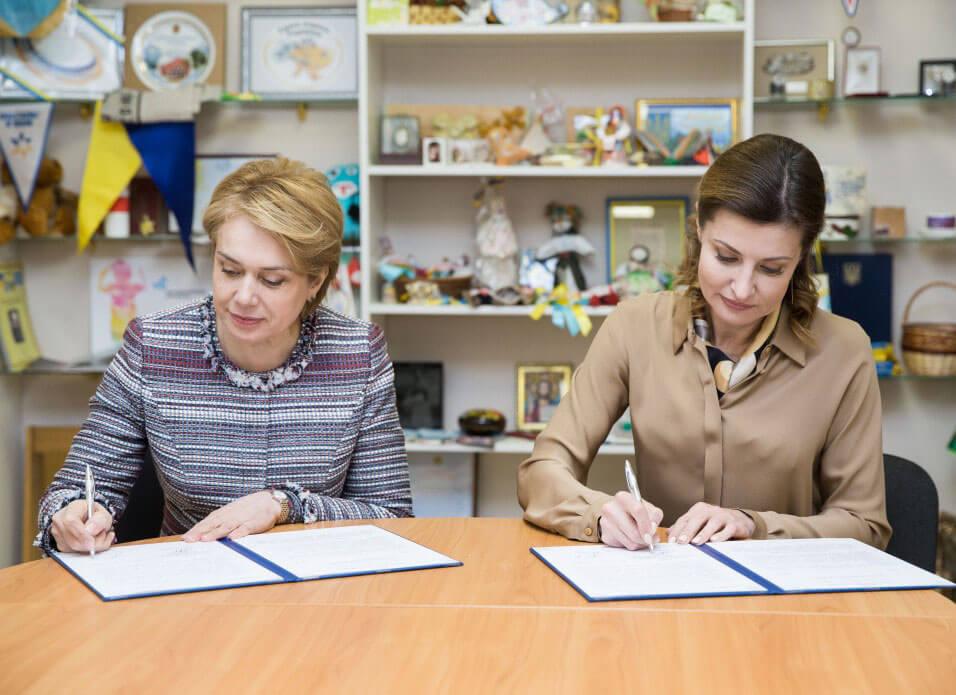 Марина Порошенко та Лілія Гриневич поширюватимуть інклюзивну освіту в дитсадках, школах та училищах України