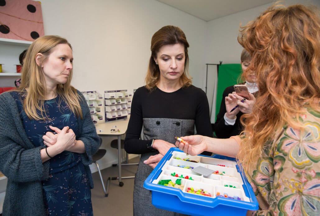 Марина Порошенко у Королівстві Данія ознайомилася з досвідом розвитку інклюзивної освіти (ФОТО)