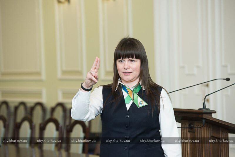 Майбутні співробітниці «Прозорих офісів» здали іспит з жестової мови (ФОТО)