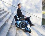 В Швейцарии разрабатывают инвалидную коляску способную ездить по лестницам (ФОТО, ВИДЕО). scewo, швейцария, инвалидная коляска, лестница, прототип, outdoor, man, person